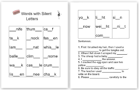 the homeschool den spelling silent letters