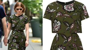 topshop dress we re obsessed with kate mara s 110 topshop dress stylecaster