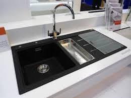 black granite composite sink black kitchen sink lowes kenangorgun com