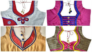 blouse pic how to designer blouse simple craft ideas