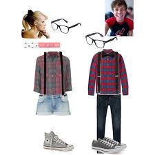 5sos costumes ashton and you as nerds polyvore