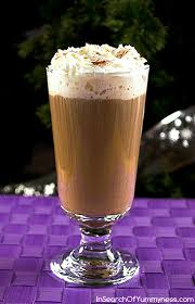 german chocolate cake flavoured dessert coffee in search of