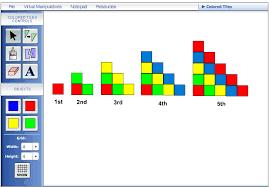 pattern blocks math activities virtual manipulatives math activities
