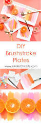 a kailo chic life craft it brushstroke plates