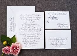 calligraphy invitations real invitations hannon cameron snippet ink snippet ink