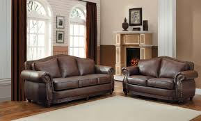 sofas center dark brown leather sofa on light carpetdark