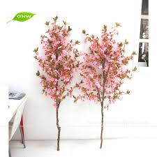 Wedding Trees Gnw Bls020 5 Artificial Pink Cherry Blossom Wedding Tree Branch
