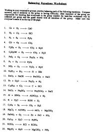balancing chemical equations worksheet answers plustheapp photo
