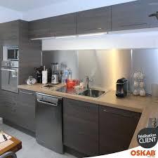 cuisine blanc et noyer deco cuisine blanc et bois cuisine contemporaine bois fumac daccor