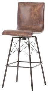 leather swivel bar stool u2013 lanacionaltapas com
