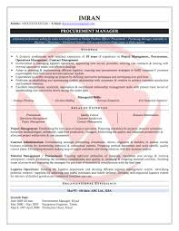 purchase officer resume resume for your job application