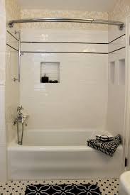 classic 1920 u0027s black and white bathroon traditional bathroom