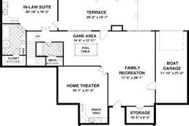 Ranch Floor Plans With Basement 13 Basement House Plans House Plans With Basketball Courts Inside