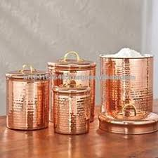 copper canister set kitchen kitche canisters gold color copper canisters copper
