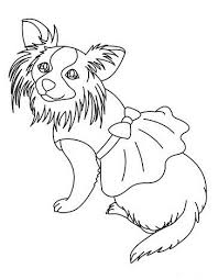 dog dress coloring animal pages kidscoloringpage