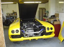 lamborghini replica bodywork rear bumper lamborghini diablo replica build diary