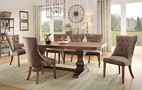 9 dining room set amazon com homelegance louise 9 dining room set in