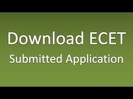 resume format for freshers engineers ecet how to download submitted ecet application form youtube