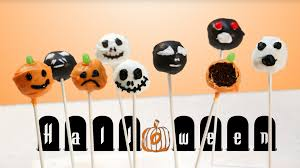how to make halloween cake pops with brownies youtube