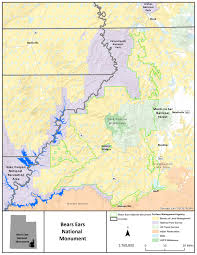 Red River New Mexico Map by National Monument Map2 Bureau Of Land Management