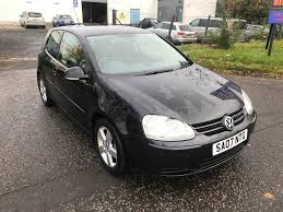volkswagen black volkswagen golf 1 4 tsi mk5 3 door black 2007 sport turbo in