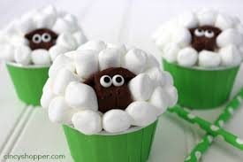 Easter Cake Decorations Recipes by Sheep Easter Cupcakes Cincyshopper