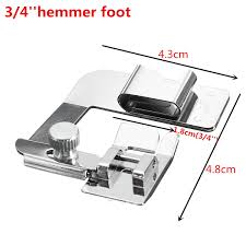 pied de biche hemmer pied 1 u0027 u0027 1 2 u0027 u0027 ou 3 4 u0027 u0027 pr singer brother