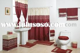 Bathroom Shower Curtain And Rug Set Bathroom Curtain And Rug Sets In Home Designs
