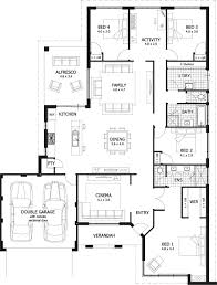 house plans and cost cost of a 4 bedroom house savae org
