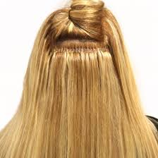 Hair Extensions With Keratin Bonds by Hairdreams Laserbeamer Nano Extensions Bonds Blonde