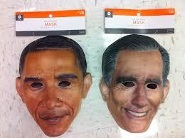 costume store selling barackula obama vampire mask for halloween