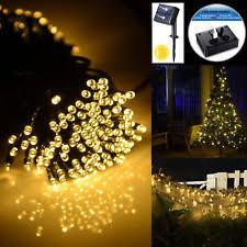 solar powered string lights outdoor solar string lights ebay