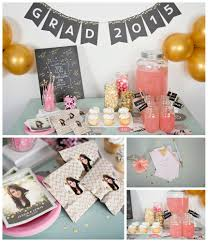 graduation decorating ideas sequin inspired graduation party ideas pear tree