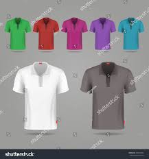 black white color male vector tshirts stock vector 466035884