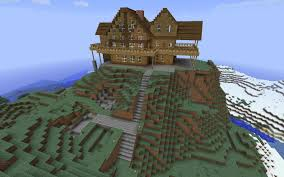 rustic living with a view craft minecraft creations and
