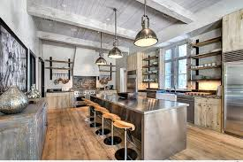 industrial modern design whimsical industrial kitchen design ideas rilane