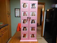 18 inch doll storage cabinet cardboard wardrobe for doll clothes storage love it american