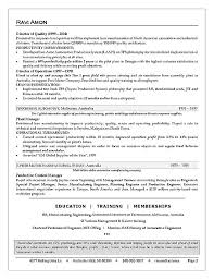 Sample Resume For Business Development Manager by Business Operations Executive Resume Example