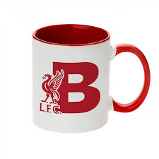 lfc letter b alphabet mug liverpool fc official store