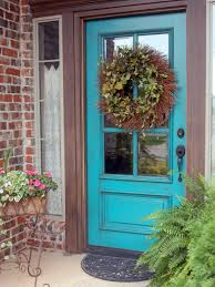Exterior Door Color Front Entryway Decorating Ideas Furniture For Entry Door