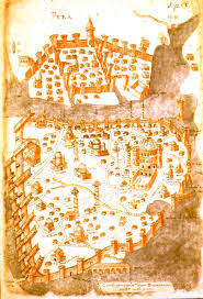 Map Of Constantinople Miscellaneous Medieval Maps