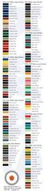 kaiser willys jeep kaiser willys jeep vehicle color guide 1946 1963 jeeps