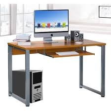 Computer Desk Without Keyboard Tray Office Office Desk With Keyboard Tray Peel Computer Desk With