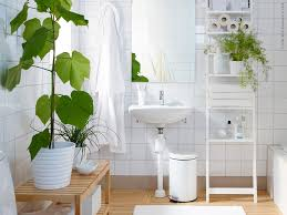 ikea bathrooms designs white and wood green plants bathroom inspiration from ikea
