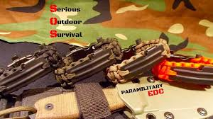 fire cord bracelet images Paramilitary edc paracord survival bracelet w 550 firecord by 0&