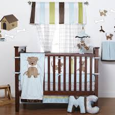Puppy Crib Bedding Sets One Grace Place Puppy Pal Crib Bedding Set Walmart