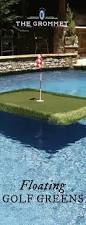 floating golf greens floating golf turf transform a pool into a