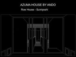 Row House In Sumiyoshi - tadao ando church of the light ppt video online download