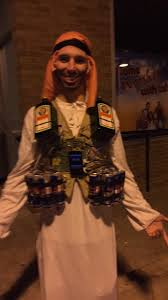 queen clarion halloween costume crybaby college students whine over islamo bomber drink halloween