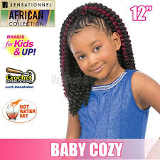 crochet braids kids sensationnel collection crochet braids for kids up baby
